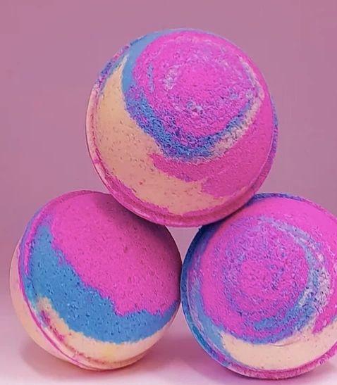 Baby Powder Rainbow Bath Bomb