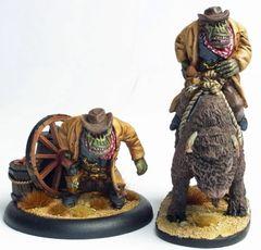 Cowboy Orc 1 - Big Arnie - Foot & Mounted
