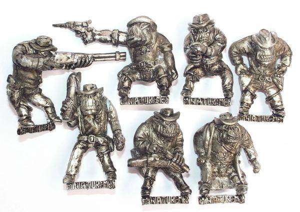 Set of 7 Cowboy Orcs