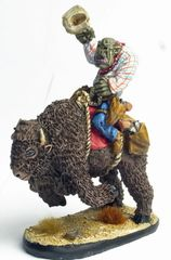 Mounted Cowboy Orc 3 - Roy Quickdraw Rotntoof