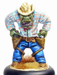 Cowboy Orc 3 - Roy Quickdraw Rotntoof