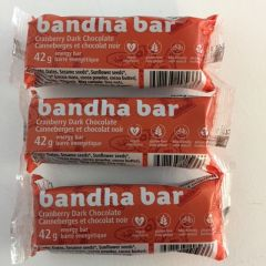 Cranberry Dark Chocolate Individual Bandha Bar