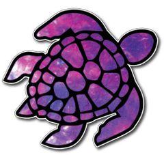 Sea Turtle Decal Sticker Vinyl 3M Car Truck Laptop Space Psychedelic window