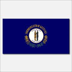 KENTUCKY STATE FLAG VINYL DECAL STICKER