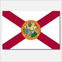 FLORIDA STATE FLAG VINYL DECAL STICKER