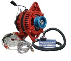 Balmar AT-165-Series Alternator, MC-614H, MC-TS-A & MC-TS-B Yanmar Kit