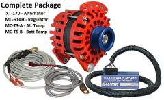 *NEW* Balmar XT-170 Alternator, Regulator & Temp Sensor Kit