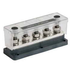 650A 5 Stud Heavy Duty Busbar & Insulating Cover
