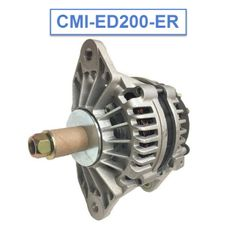 CMI-ED200-ER - 200A Large Frame Extreme Duty Alternator -J180 Mount