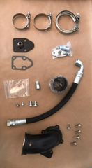 6.5 Turbo Diesel HX35 Holset and HX40II Downpipe Kit