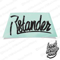 ISLANDER DECAL
