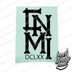 CNMI DCLXX ROYAL DECAL