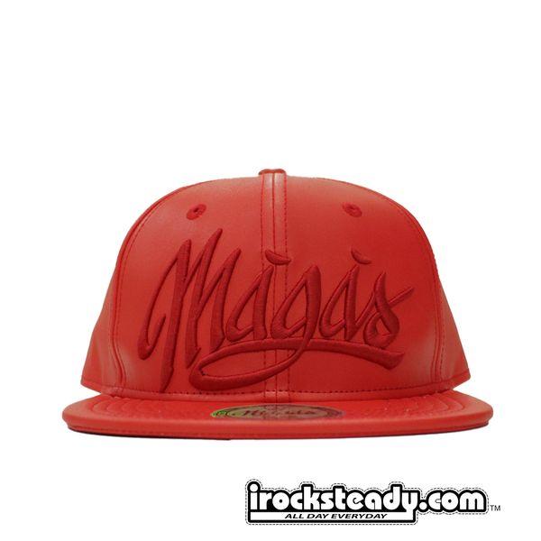 MAGAS (SIGNATURE LOGO RED) Snapback