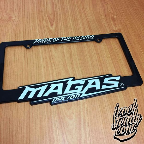 MAGAS License Plate Frame