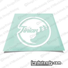 RS TINIAN TAGA BEACH DECAL