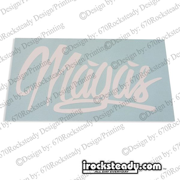 MAGAS HIGH LUX DECAL