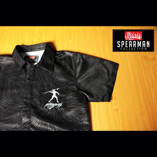 MAGAS (SPEARMAN COLLECTION BLACK) Polo Shirt