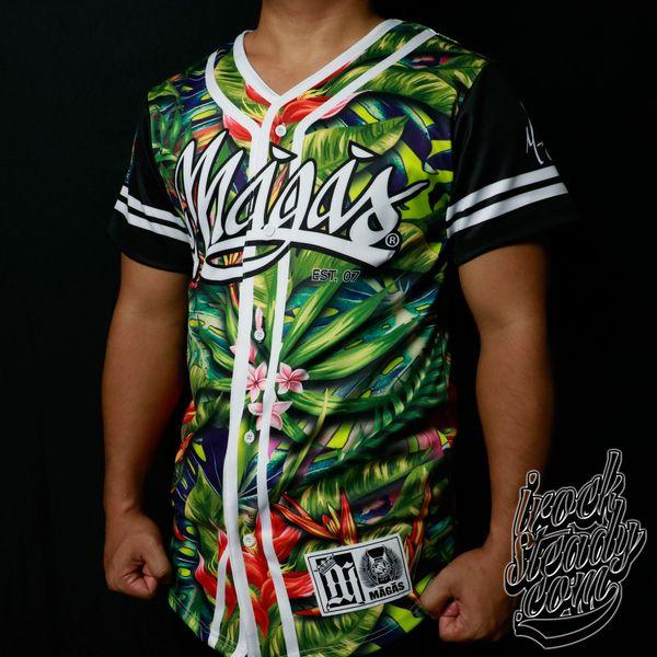 MAGAS (Paradise II) Baseball Jersey