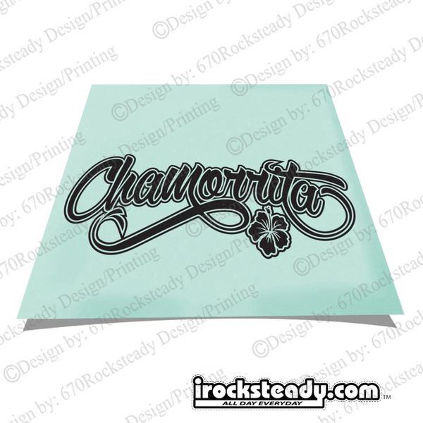 CHAMORRITA DECAL