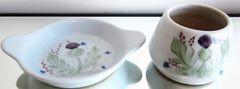 Buchan Pottery - Thistleware Pattern