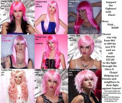 000 Fighters With Flare Pink Hair Charity!