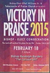 "Victory In Praise Conference 2015 DVD - Bishop Randolph Borders - ""The Curious Girl"""