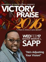 "Victory In Praise Conference 2016 DVD, Bishop Marvin Sapp, ""HE'S Adjusting Your Vision"""