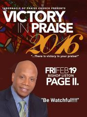 "Victory In Praise Conference 2016 DVD, Bishop Liston Page, ""Be Watchful"""