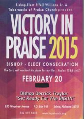 "Victory In Praise Conference 2015 - DVD - - Pastor Derrick Traylor - ""Get Ready For The Big"""