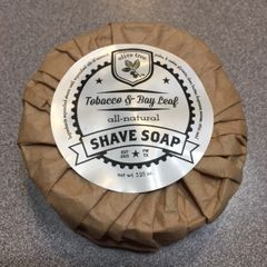 Shave Soap - Tobacco & Bay Leaf