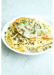 Wednesday Family Meal Night Crispy Pork Piccata