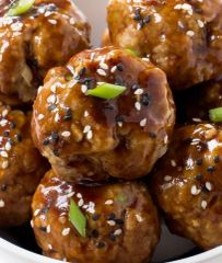Wednesday Delivery Family Meal Night Hoisin Chicken Meatballs