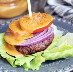 Monday Delivery Grass Fed Beef( Or choose Turkey) Burger