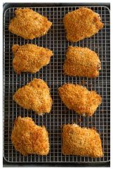 Family Meal Oven Fried Chicken Wednesday