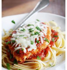 Monday Delivery Family Meal Night Skinny Chicken Parmesan
