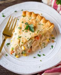 Home Made Chicken Pot Pie
