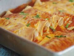 Monday Delivery Chicken Enchiladas