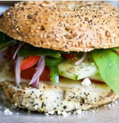 Farmers Bagel Sandwich Wednesday Delivery