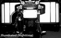 RK-11 BMW Motorcycle Reflective Kit: -- -- Fits the rear of the Vario saddlebags on the 2005-2012 BMW R1200GS