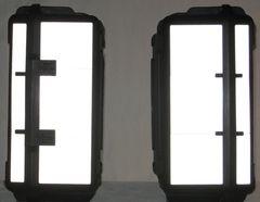 RK-501 Caribou Cases 40L Reflective Kit: -- -- Fits the 40-Liter aftermarket saddlebags from Caribou Cases