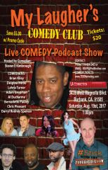"""Stick with the PodBrother LIVE Comedy Show"