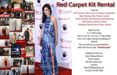 Red Carpet Rental Kit 8' x 12'