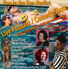 Fun in the Sun Nudist Podcast / Comedy Show