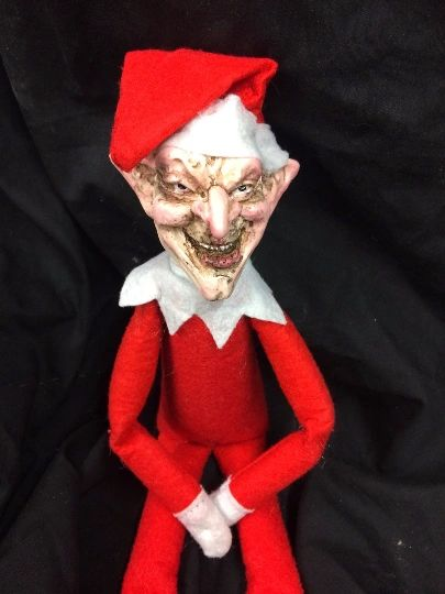 The Creeps - Creep Elf near your shelf