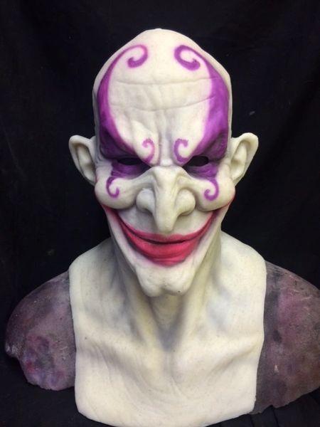 Sketchy the UV reactive clown