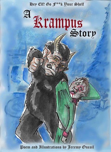 Krampus Story Graphic Novel