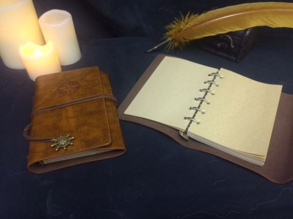 Scribe- Leather Spell Book