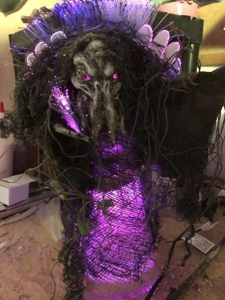 Tree Topper Cthulhu Fiber Optic