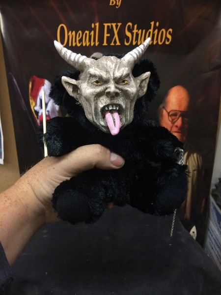 Krampus Talking Doll