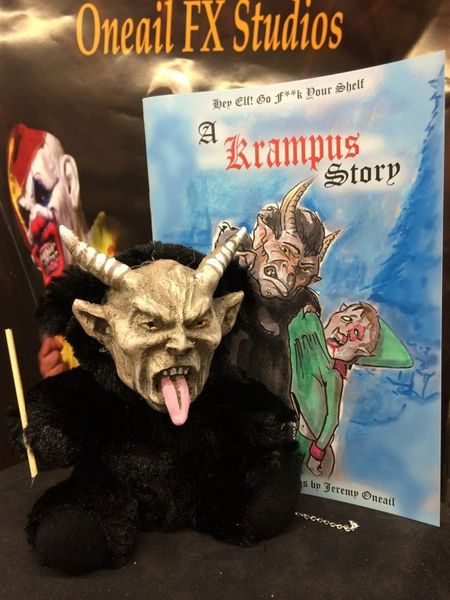 Krampus talking Doll and Story Book